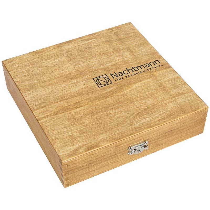 Пепельница треугольная Nachtmann Cigar в деревянной подарочной