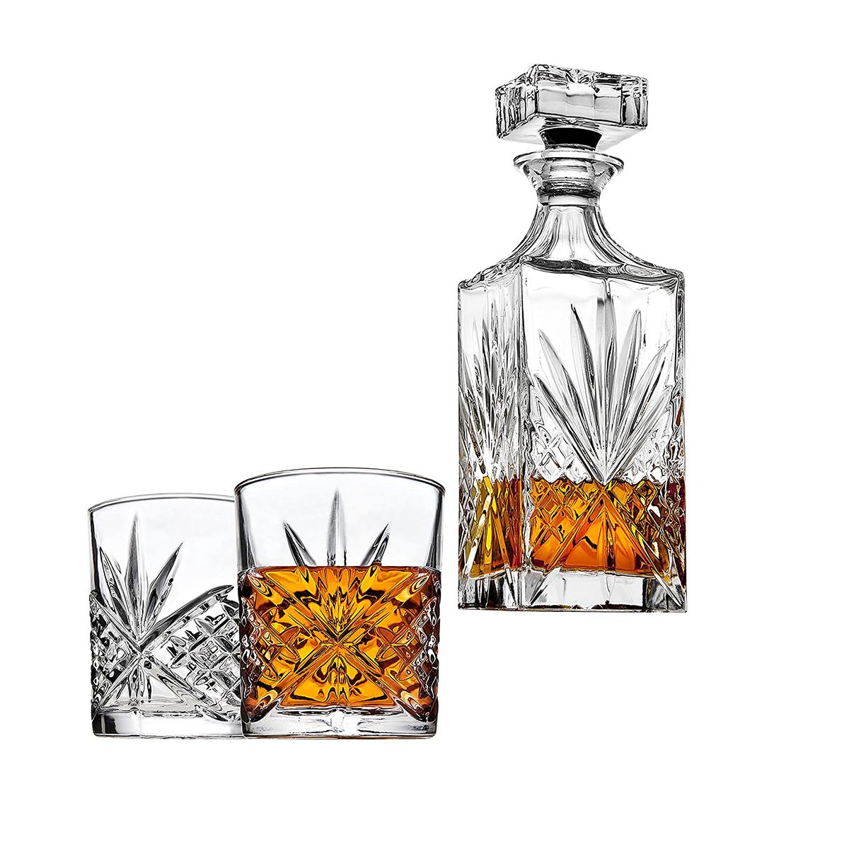 Подарочный набор для виски, декантер с двумя