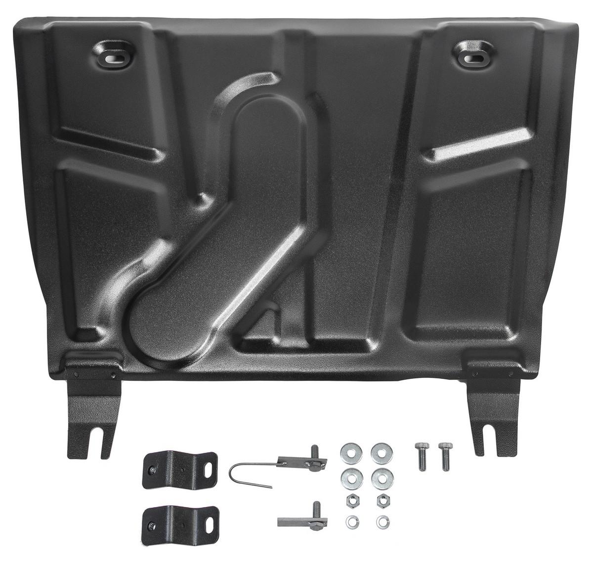 Защита картера и КПП Rival для Toyota RAV4 XA30, CA40 2010-2019, с крепежом, 111.5709.1