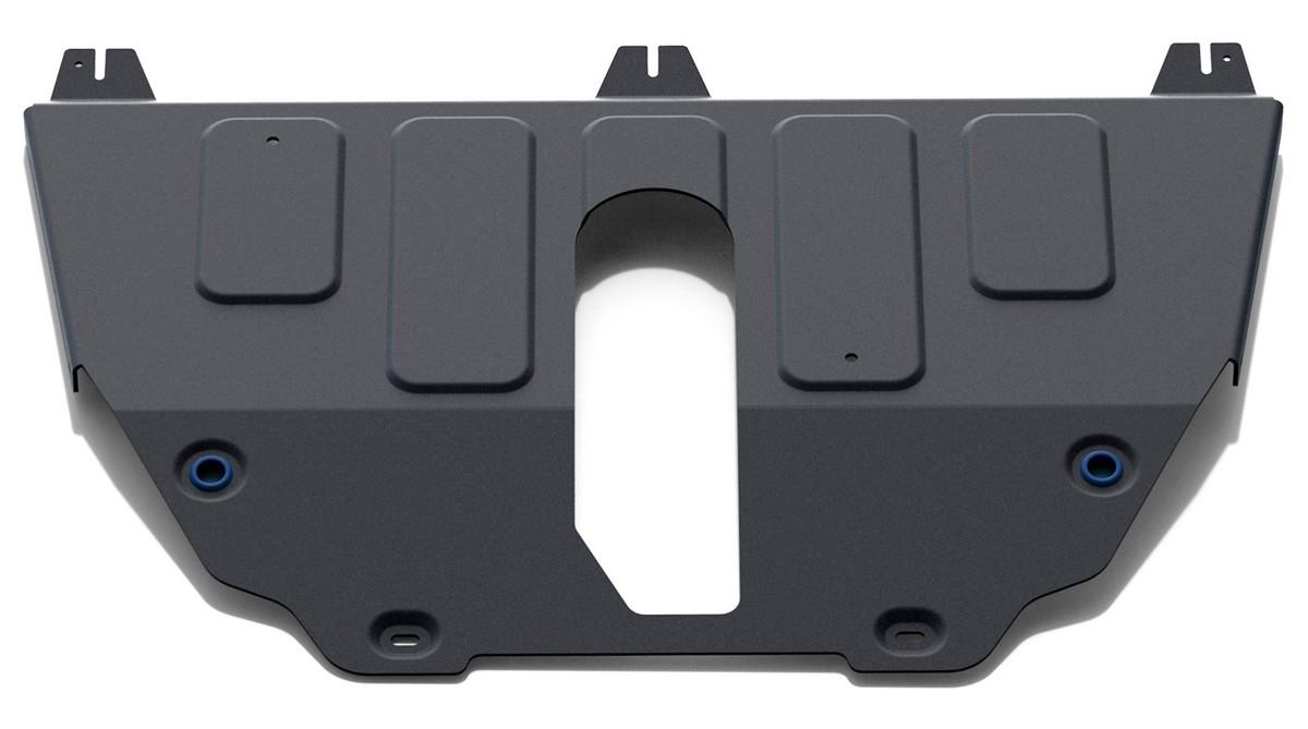 Защита картера и КПП Rival Jeep Compass II 4WD /Renegade 2014-2018, с крепежом, 111.2743.1