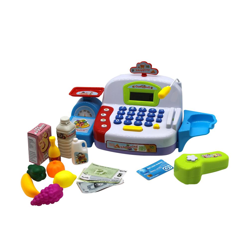 Касса игрушечная Джамбо Тойз с аксессуарами