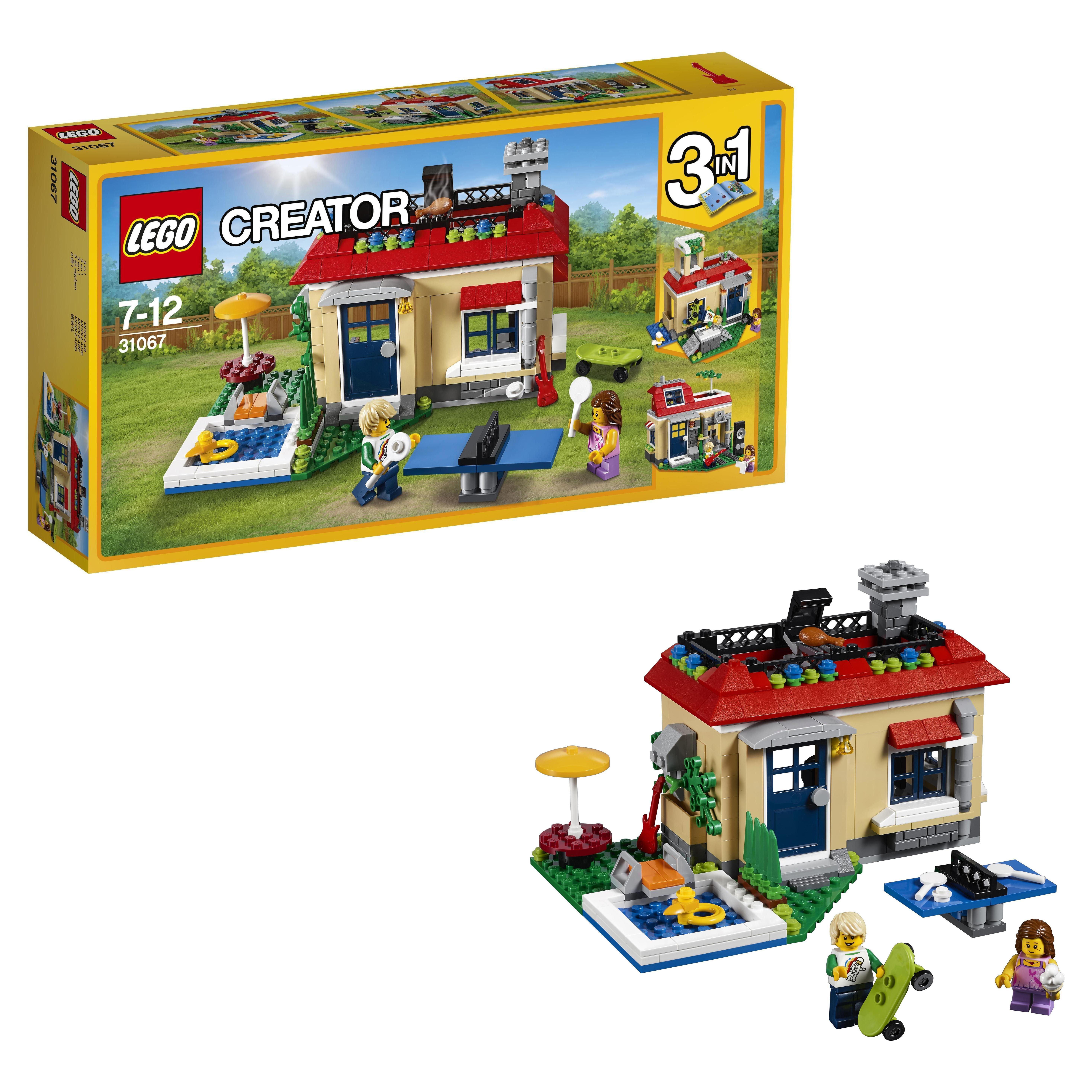 Конструктор LEGO Creator Вечеринка у бассейна (31067)