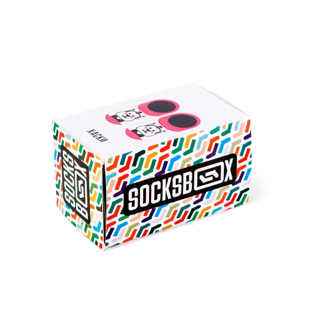 Носки унисекс Socks Box Husky красные 30-35