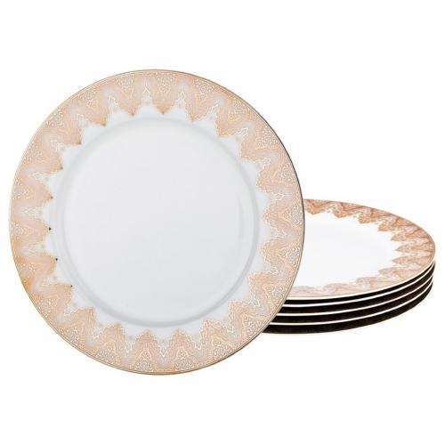Набор тарелок Lefard, Кларисса, 25 см,