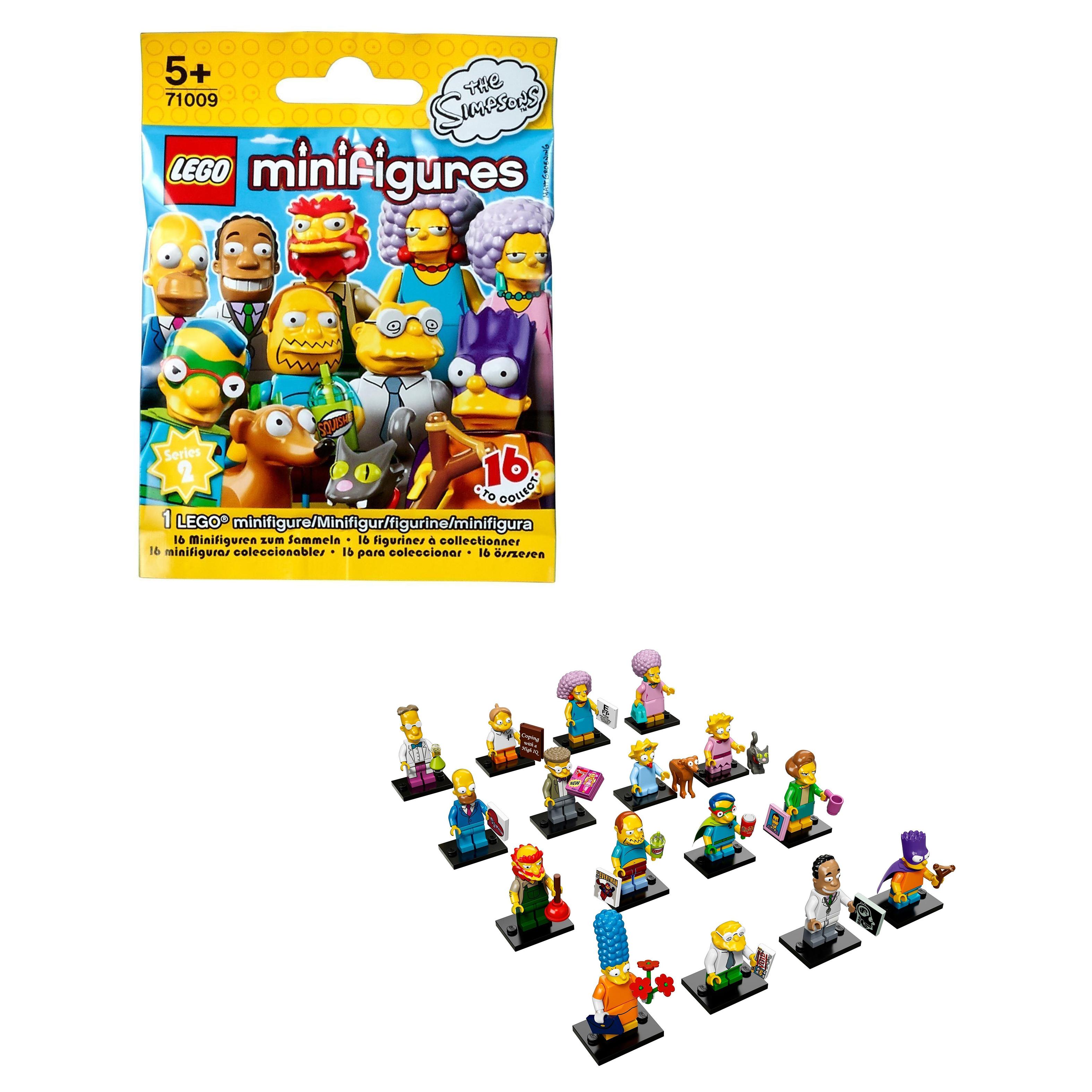 Конструктор LEGO Minifigures Минифигурки LEGO Серия Симпсоны 2.0 (71009) фото