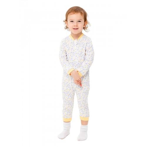 Купить 1484-01, Комбинезон для малышей KIDAXI BABY, цв. желтый, р-р 86,