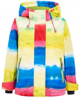 Купить 219BBGA41010005, Куртка для девочек Button Blue, цв. голубой, р-р 98, Куртки для девочек