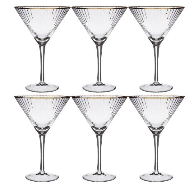 Набор бокалов для мартини Lefard, Рим,