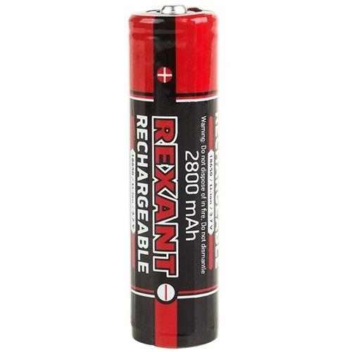 Аккумуляторная батарея Rexant 18650 1шт