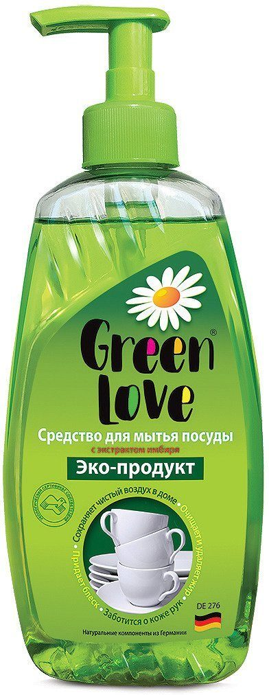 Средство Green Love для мытья посуды 500 мл.