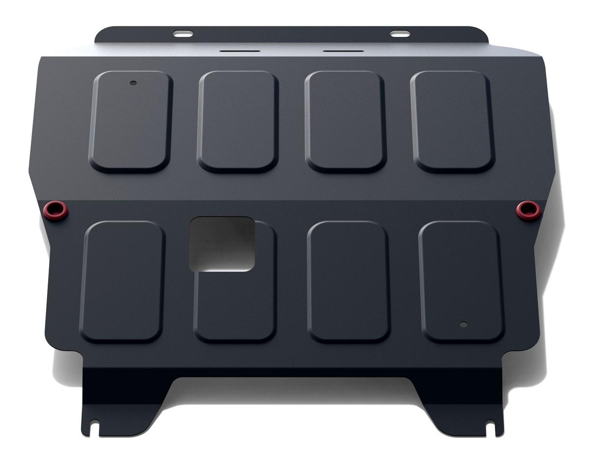 Защита картера и КПП АвтоБроня для Chevrolet Aveo I T250 рестайлинг 2006-2012/Ravon Nexia