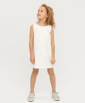 Купить 120BBGP25040200, Платье для девочек Button Blue, цв. белый, р-р 158, Платья для девочек