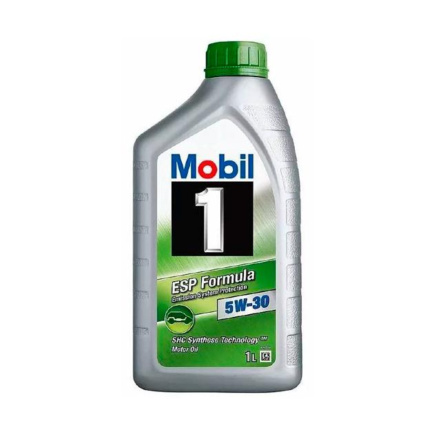 Масло моторное Mobil 1 ESP 5W30 синтетическое 1 л 154279