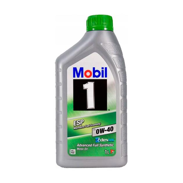 Масло моторное Mobil 1 ESP X3 0W40 синтетическое 1 л 154148