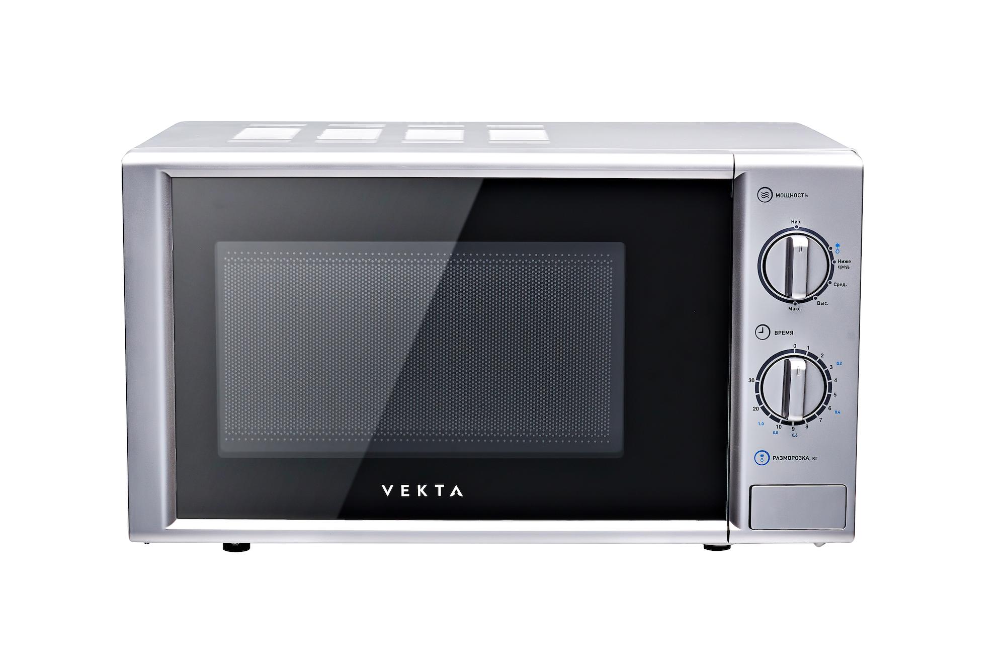 Микроволновая печь соло Vekta MS720AHS Silver