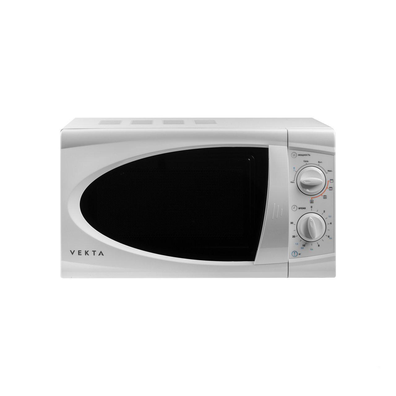 Микроволновая печь соло Vekta MG720ABW White