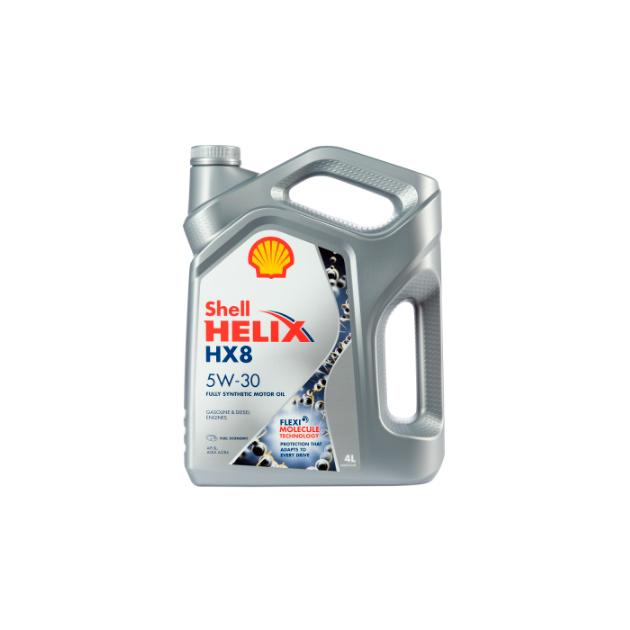 Масло моторное Shell Helix HX8 Synthetic 5W30 синтетическое 4 л 550046364