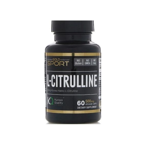 California Gold Nutrition L Citrulline 60 капсул