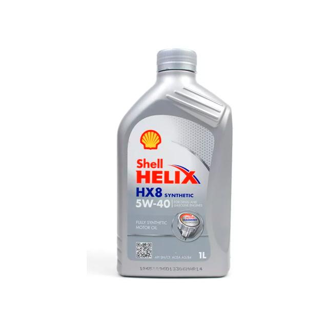 Масло моторное Shell Helix HX8 SN+ 5W40 синтетическое 1 л 550051580