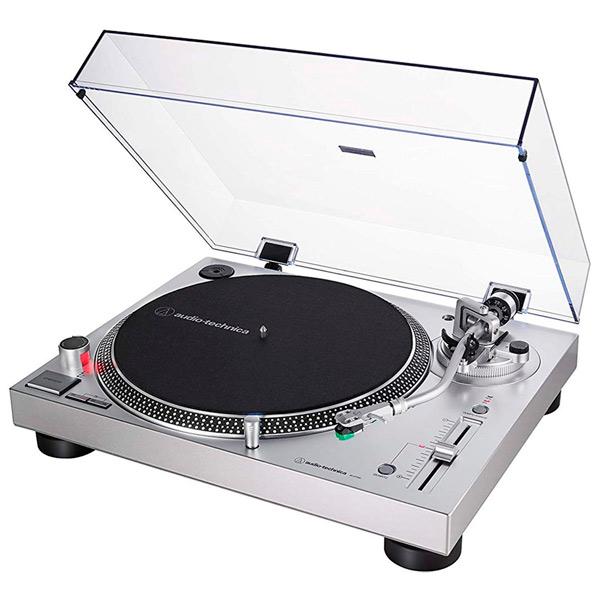 Проигрыватель виниловых пластинок Audio-Technica AT-LP120XUSBSV Silver фото