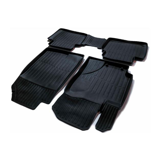 Коврики Резиновые В Салон 3d Premium Для Hyundai Solaris Ii  SRTK PR.HY.SOL.17G.02077