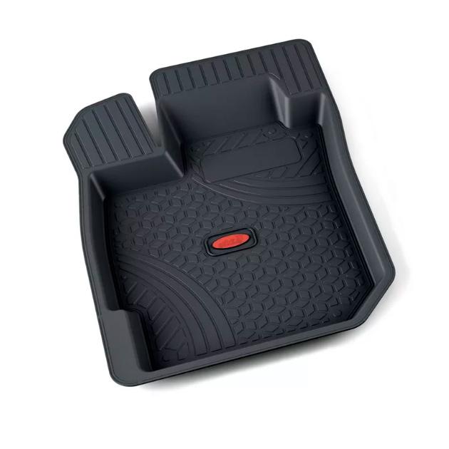 Коврики салона резина черн Renault Logan седан водительский коврик 1шт АГАТЭК A.005.08