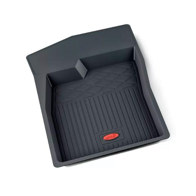 Коврики салона резина чернй Daewoo Nexia водительский коврик 1шт 2008- АГАТЭК A.002.181.HM