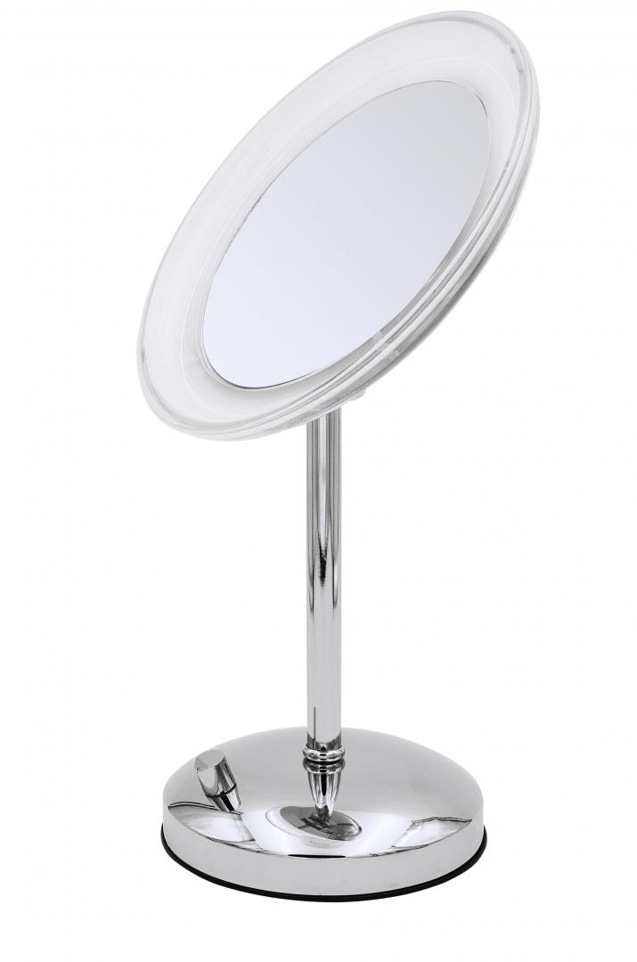 Зеркало косметич. настольное Tiana 5х-увелич. LED USB хром по цене 15 451