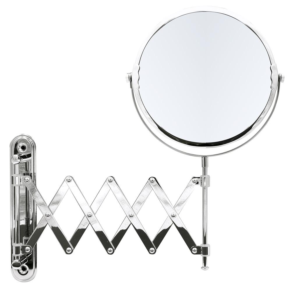 Зеркало косметич. подвесное Anna 1х/5х-увелич. хром по цене 6 250