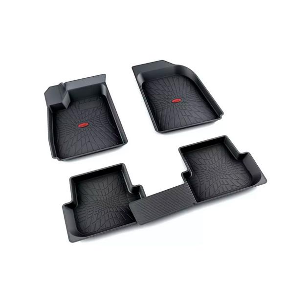 Коврики салона резина черный Chevrolet Aveo седан 2011- АГАТЭК A.003.110.H