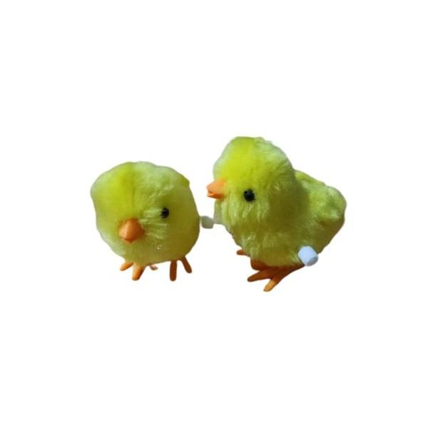 Купить Цыпленок заводной Junfa toys 15 см,