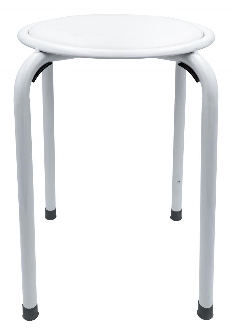 Табурет RIDDER А042101 30,8х30,8х44,5 см, белый по цене 1 877