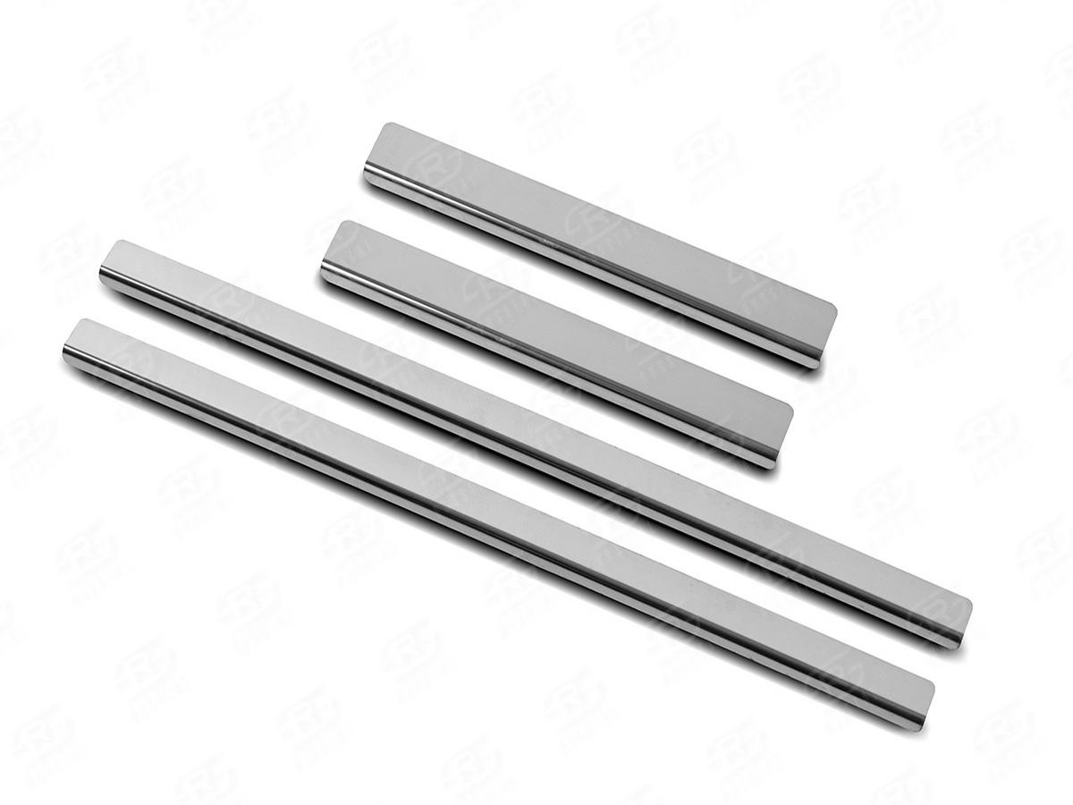 Накладки на пороги RUSSTAL (нерж., зеркало) ISDMX16-01