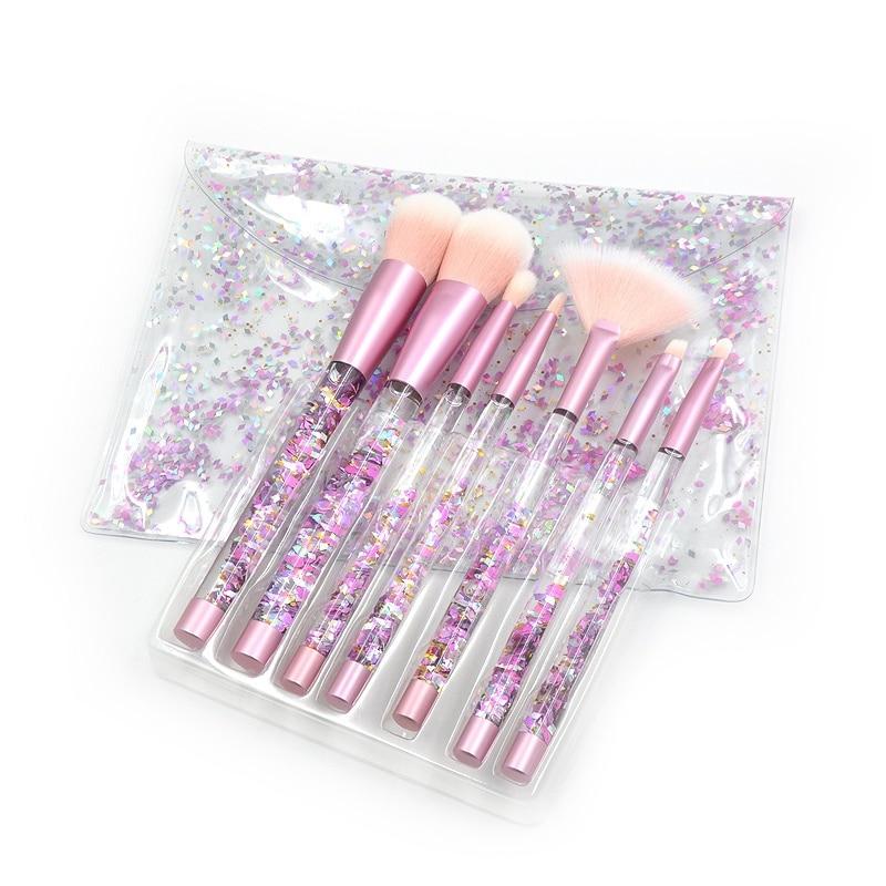 Набор кистей для макияжа в косметичке Kawaii Factory \