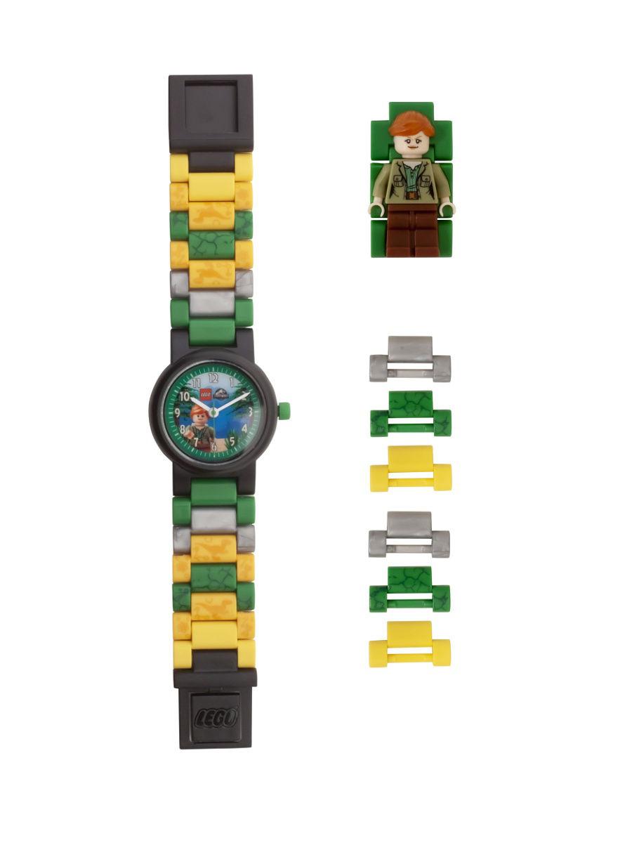 Детские наручные часы LEGO аналоговые Jurrasic World:
