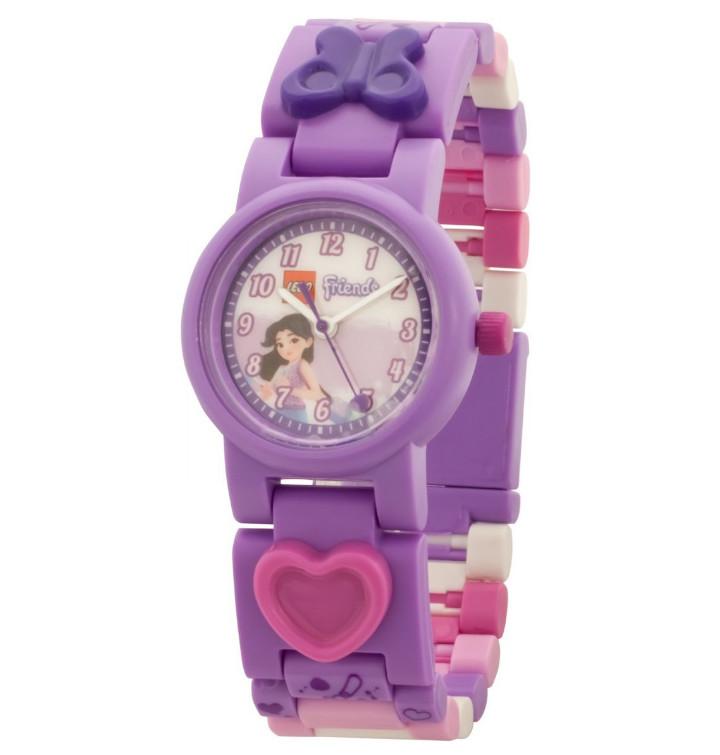 Детские наручные часы LEGO аналоговые Friends. Emma,