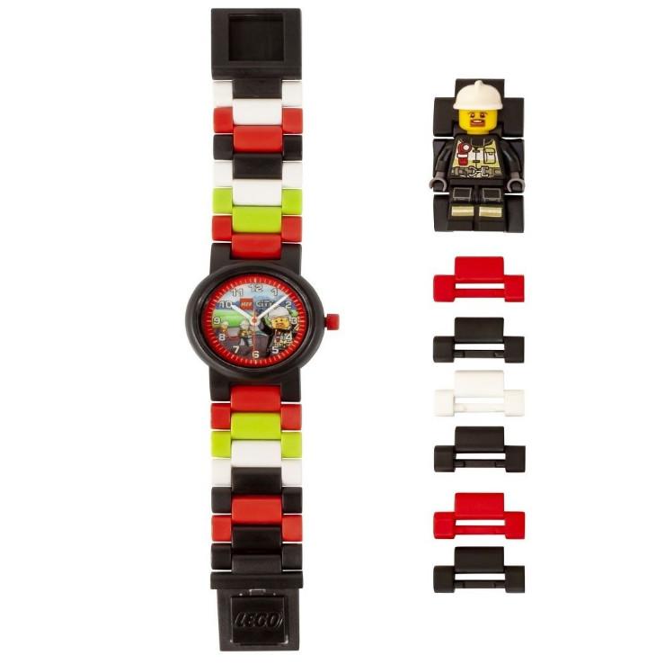 Детские наручные часы LEGO аналоговые City. Fireman,