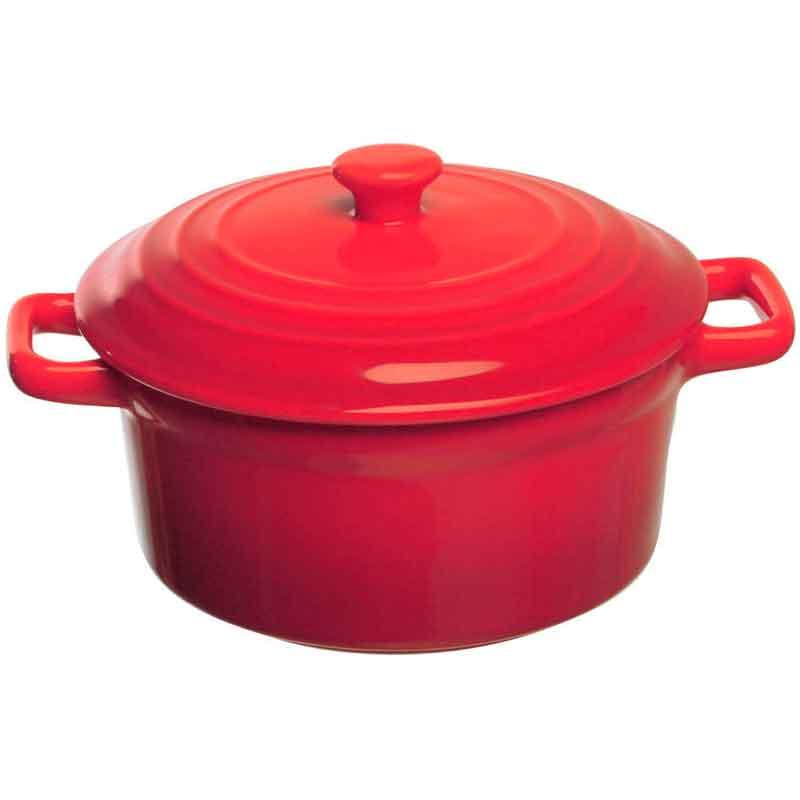 Кастрюлька 13см TOGNANA FORNO&DINTORNI, цвет красный