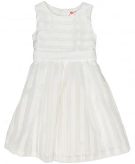 Купить 219BBGP25050200, Платье для девочек Button Blue, цв. белый, р-р 158, Платья для девочек