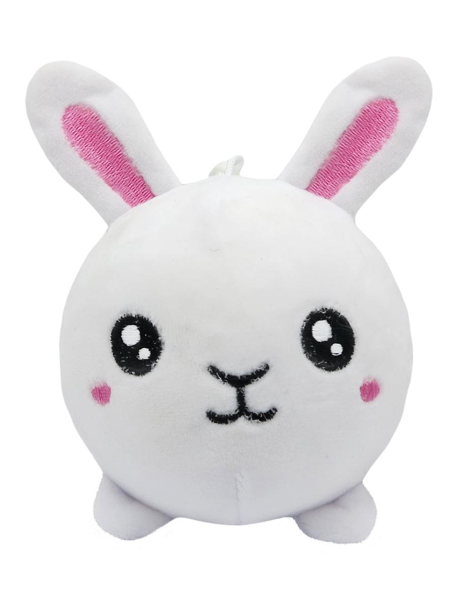 Купить Мягкая игрушка антистресс Зайчик белая 10см, МихиМихи, Мягкие игрушки антистресс