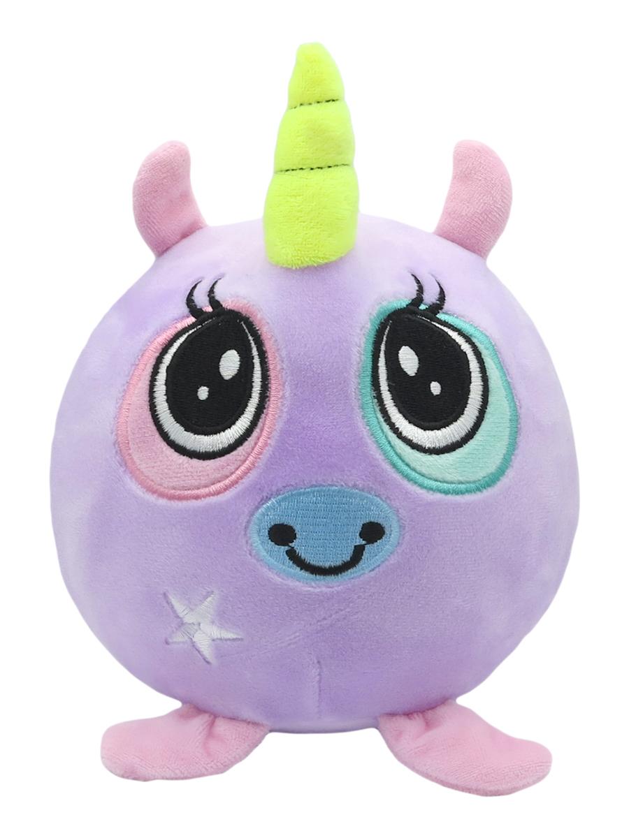 Мягкая игрушка антистресс Единорог фиолетовая 15см