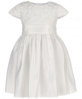 Купить 218BBGP25050200, Платье для девочек Button Blue, цв. белый, р-р 158, Платья для девочек