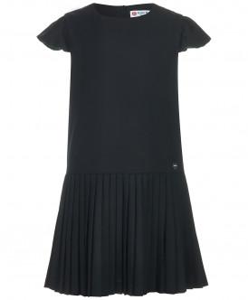 Купить 218BBGS25020800, Платье для девочек Button Blue, цв. черный, р-р 158, Платья для девочек