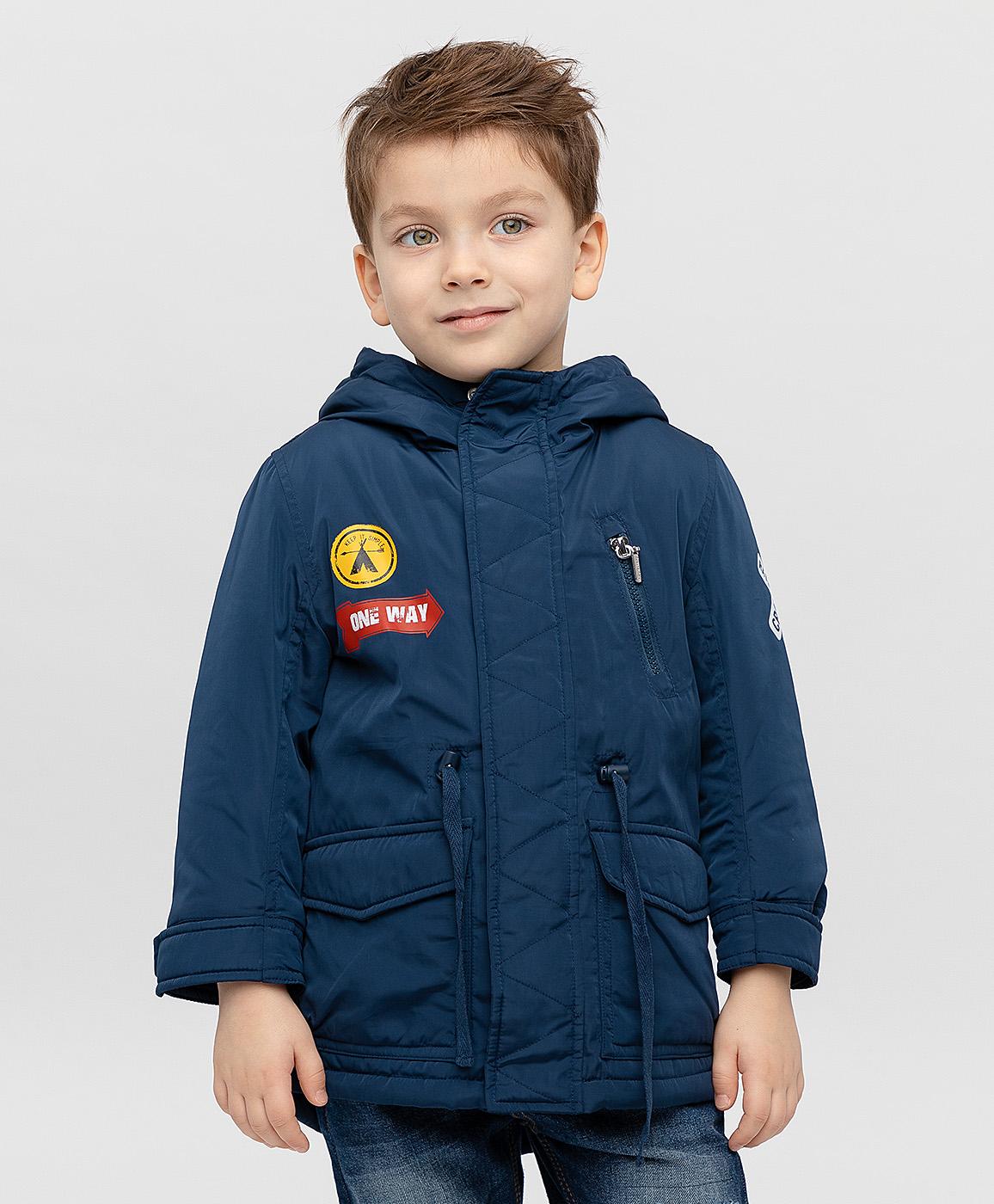 Пальто для мальчиков Button Blue, цв. синий,
