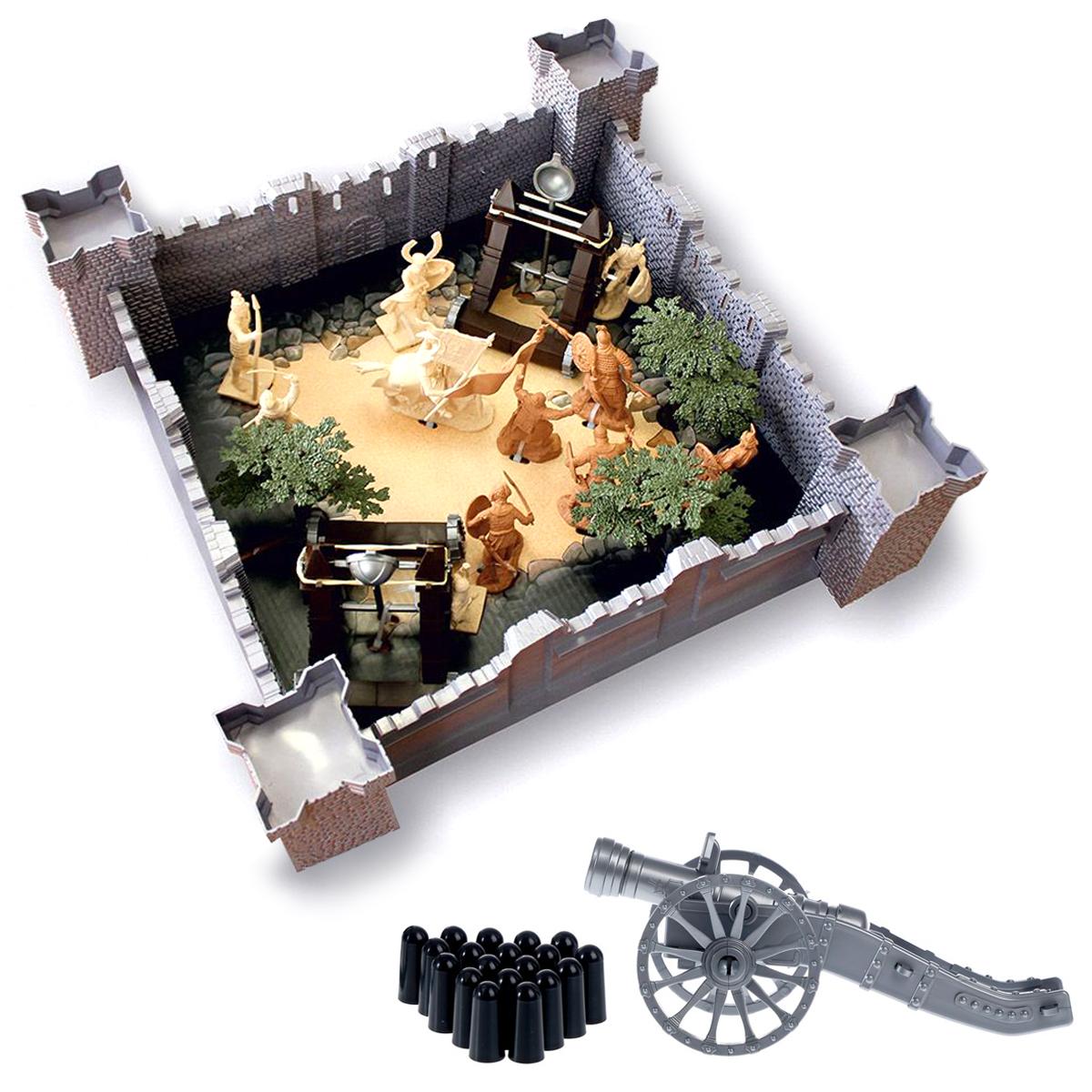 Купить Игровой набор Биплант 1291 Год взятия крепости + Пушка,