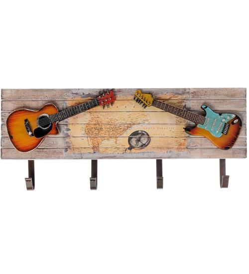 Панно Trandariful MEGRIDUL, Две гитары, 19*47