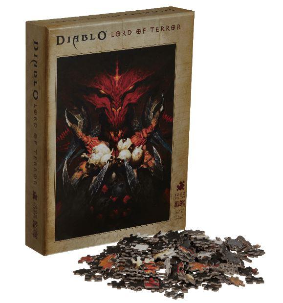 Пазл Blizzard Diablo Lord of Terror 1000 деталей