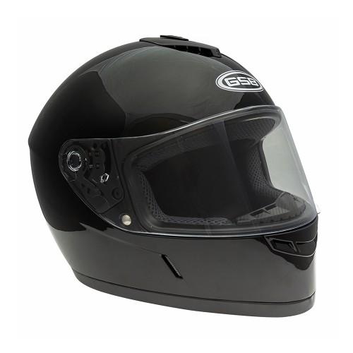 Шлем GSB G 349 Black Glossy, размер