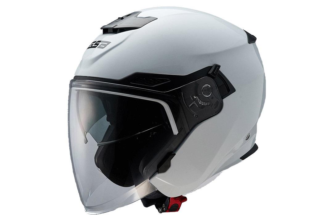 Шлем GSB G 263 White Glossy, размер