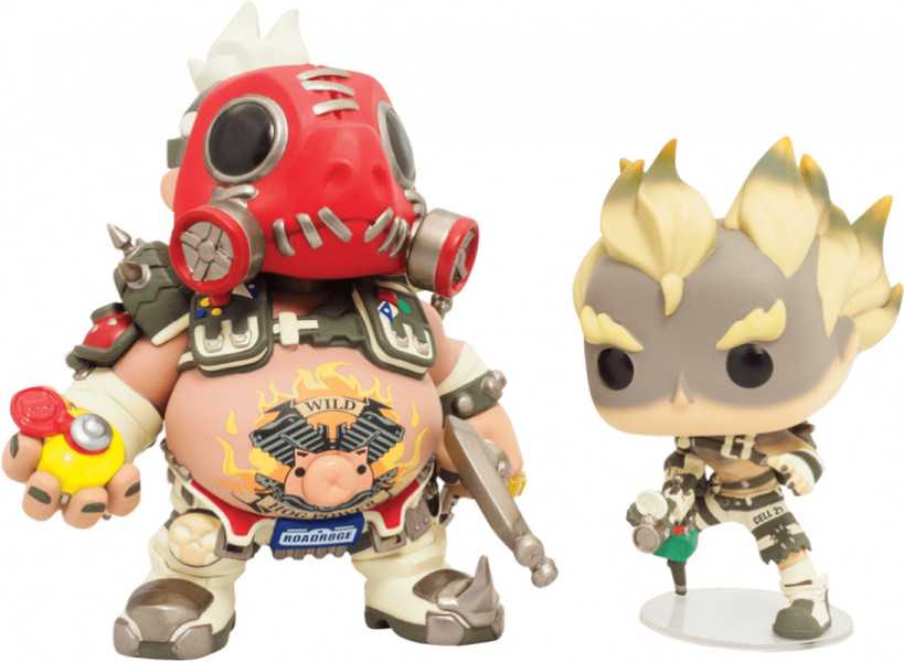 Фигурка Blizzard Funko POP! Overwatch Roadhog and Junkrat фото